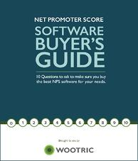 Wootric Net Promoter Score Buyer's Guide
